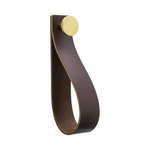 Beslag Design Loop Strap Koukku Ruskea / Messinki