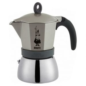 Bialetti 6 Kupin Moka Induction Espressokeitin