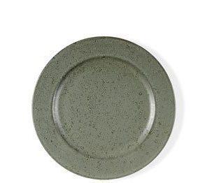 Bitz Desserttallrik grön stengods