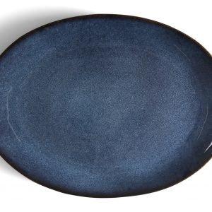Bitz Tarjoiluvati Ovaali Sininen 45x34 Cm