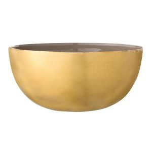 Bloomingville Golden Kulho Ruskea / Kulta