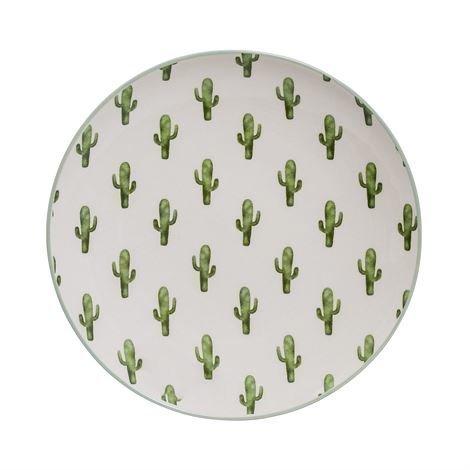 Bloomingville Jade Kaktus Lautanen Ø 20 cm