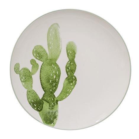 Bloomingville Jade Kaktus Lautanen Ø 25 cm