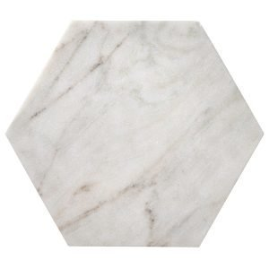 Bloomingville Marble Hexagon Tarjotin M
