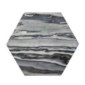 Bloomingville Marble Hexagonal Leikkuulauta 30 Cm