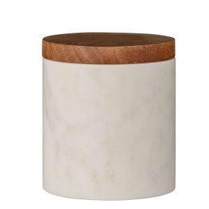 Bloomingville Marble Säilytyspurkki 10 Cm