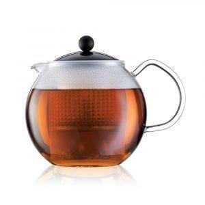 Bodum Assam Teekannu Ja Siivilä Musta 1