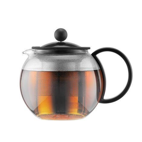 Bodum Assam Teekannu Musta 0