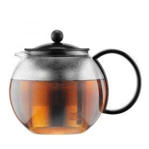 Bodum Assam Teekannu Musta 1 L