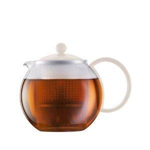 Bodum Assam Teekannu Valkoinen 1 L