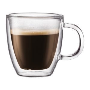 Bodum Bistro Kaksiseinäinen Espressomuki 15 Cl 2 Kpl