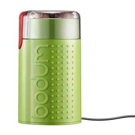 Bodum Bistro sähkökäyttöinen Kahvimylly Kiiltävä lime