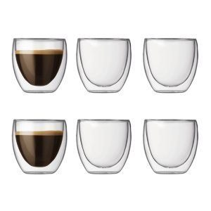 Bodum Pavina Espressolasi 6-Pakkaus