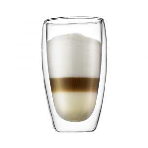 Bodum Pavina Kaksiseinänen Kahvi Lasi 45 Cl 2-Pakkaus