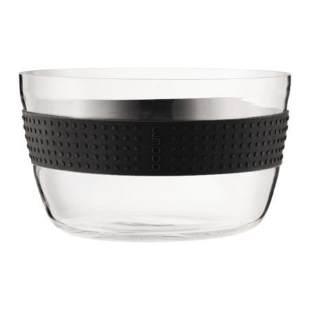 Bodum Pavina Salaattikulho lasia 22 cm musta