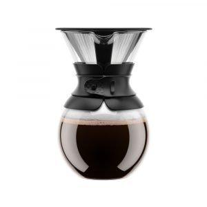 Bodum Pour Over Kahvinkeitin Musta 1 L