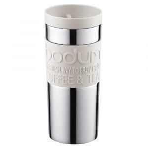 Bodum Travel Mug Matkamuki Kannellinen Valkoinen 35 Cl