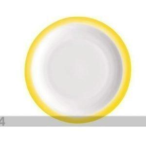 Bormioli Rocco Jälkiruokalautanen Performa Dessert Ø19 Keltainen 3 Kpl