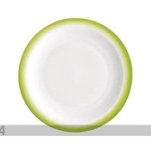 Bormioli Rocco Jälkiruokalautanen Performa Dessert Ø19 Vihreä 3 Kpl