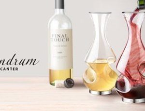 BoxinBag Conundrum- Viinin ilmaaja Karahvi