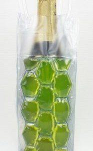 BoxinBag Freez yellow- Viinipullon jäähdytin