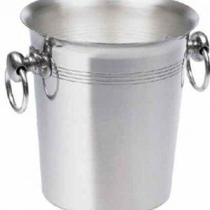 BoxinBag Secchiello alu- Jääpalasanko harjatusta alumiinista