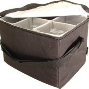BoxinBag Wine glass bag black - Kuljetuslaukku viinilaseille