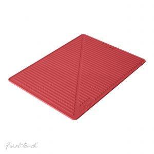 Boxinbag Kuivausmatto Punainen 34x24 Cm