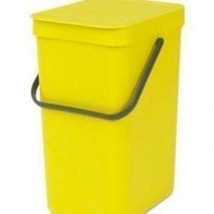"Brabantia Paperikori ""SORT & GO"" 12L keltainen"