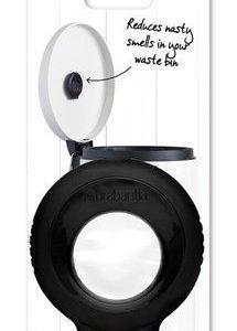Brabantia Pefume Your Bin-aloituspaketti (pidike + kapseli) musta/kukkaistuoksu