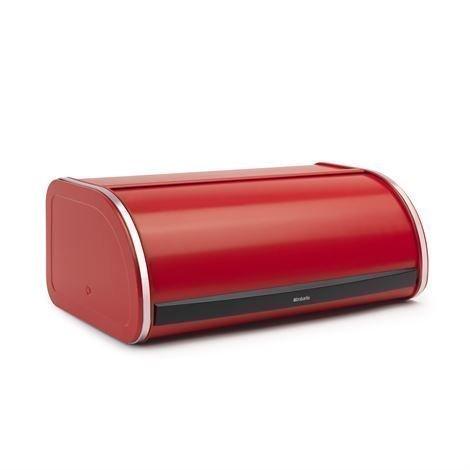 Brabantia Roll Top Leipälaatikko Keskikokoinen Passion Red Punainen