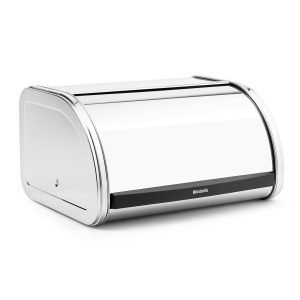 Brabantia Roll Topp Leipälaatikko Medium Brilliant Steel