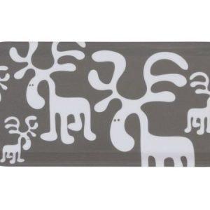 Brands Scandinavia Moose-tarjotin 27 x 13 cm harmaa