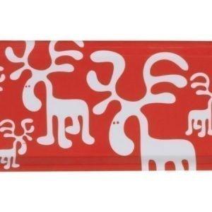 Brands Scandinavia Moose-tarjotin 27 x 13 cm punainen