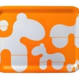 Brands Scandinavia Poni-tarjotin 43 x 32 cm oranssi