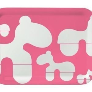 Brands Scandinavia Poni-tarjotin 43 x 32 cm vaaleanpunainen