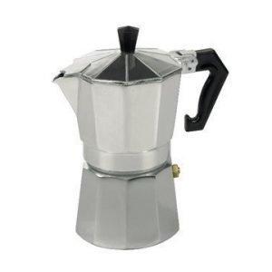 Bredemeijer Espressokannu Alumiini 6 kuppia