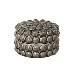 Broste Copenhagen Dotty Box Rock Ridge 12x8 Cm