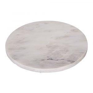Broste Copenhagen Marble Vati Pyöreä Valkoinen 19 Cm
