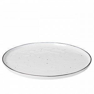 Broste Copenhagen Plate Salt Posliinivati Valkoinen 28x28 Cm