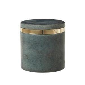Broste Copenhagen Ring Säilytyspurkki Harmaa 10x11 Cm