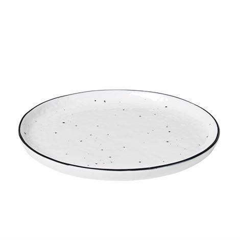 Broste Copenhagen Salt Lautanen Täplikäs Ø 18 cm