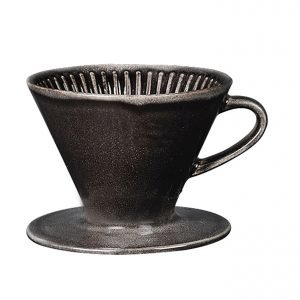 Broste Nordic Coal Coffee Dripper Kahvinsuodatin 10x13.5x11.5 Cm