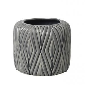 Broste Rhombe Ruukku Smoked Pearl 18.5 Cm