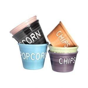 Bruka Popcorn Kulho cm vihreä