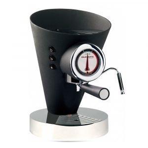 Bugatti Diva Evolution Kahvi / Espressokeitin Musta