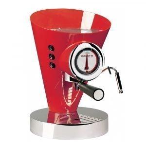 Bugatti Diva Evolution Kahvi / Espressokeitin Punainen
