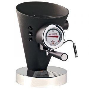 Bugatti Diva Kahvi / Espressokeitin Musta