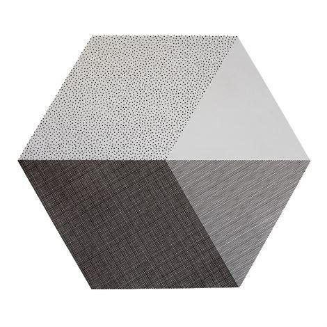 By May Polygon Pöytätabletti 2 kpl Concrete Harmaa