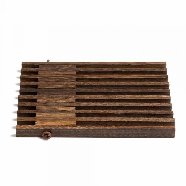 By Wirth Table Frame Alunen Smoked